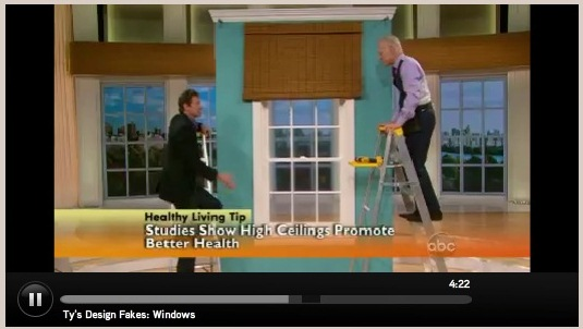 Fake It How To Make Windows Look Bigger With Ty Pennington