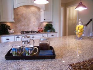 staging kitchen counters
