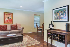 Bar Area After Home Staging in Dallas