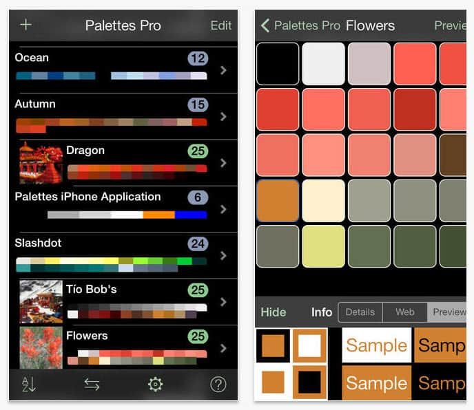 Handy color app for home stagers